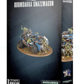 Games-Workshop Orks Boomdakka Snazzwagon