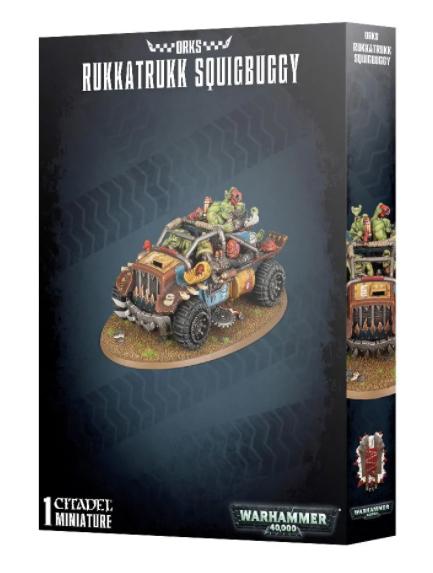 Games-Workshop Orks Rukkatrukk Squigbuggy