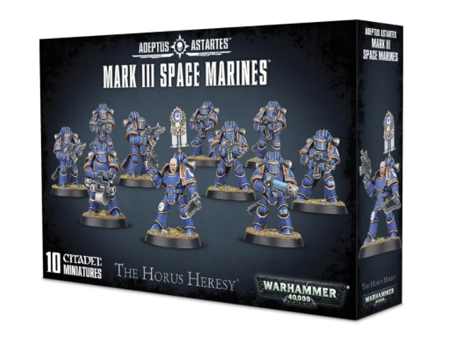 Games-Workshop Mark Iii Space Marines