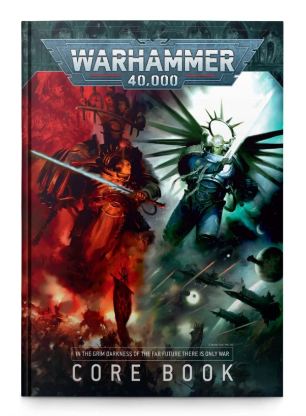 Games-Workshop Warhammer 40000: Core Book (English)