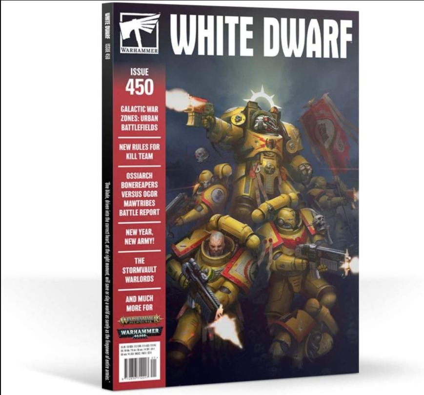 Black Library White Dwarf January 2020 (English)