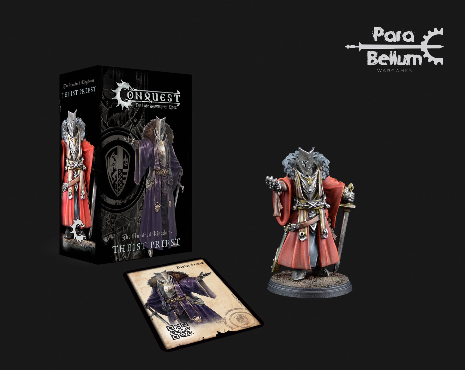 Para Bellum Hundred Kingdoms: Theist Priest