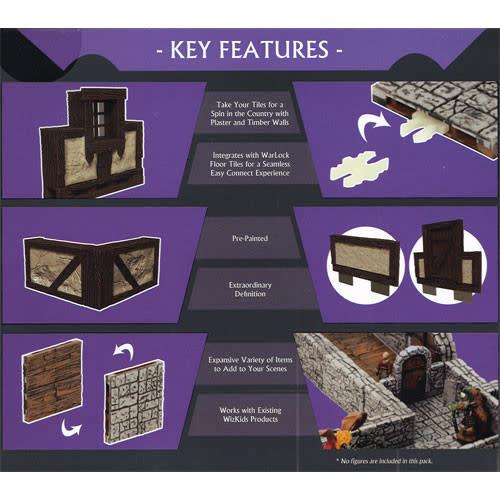 WizKids Warlock Tiles: Town & Village