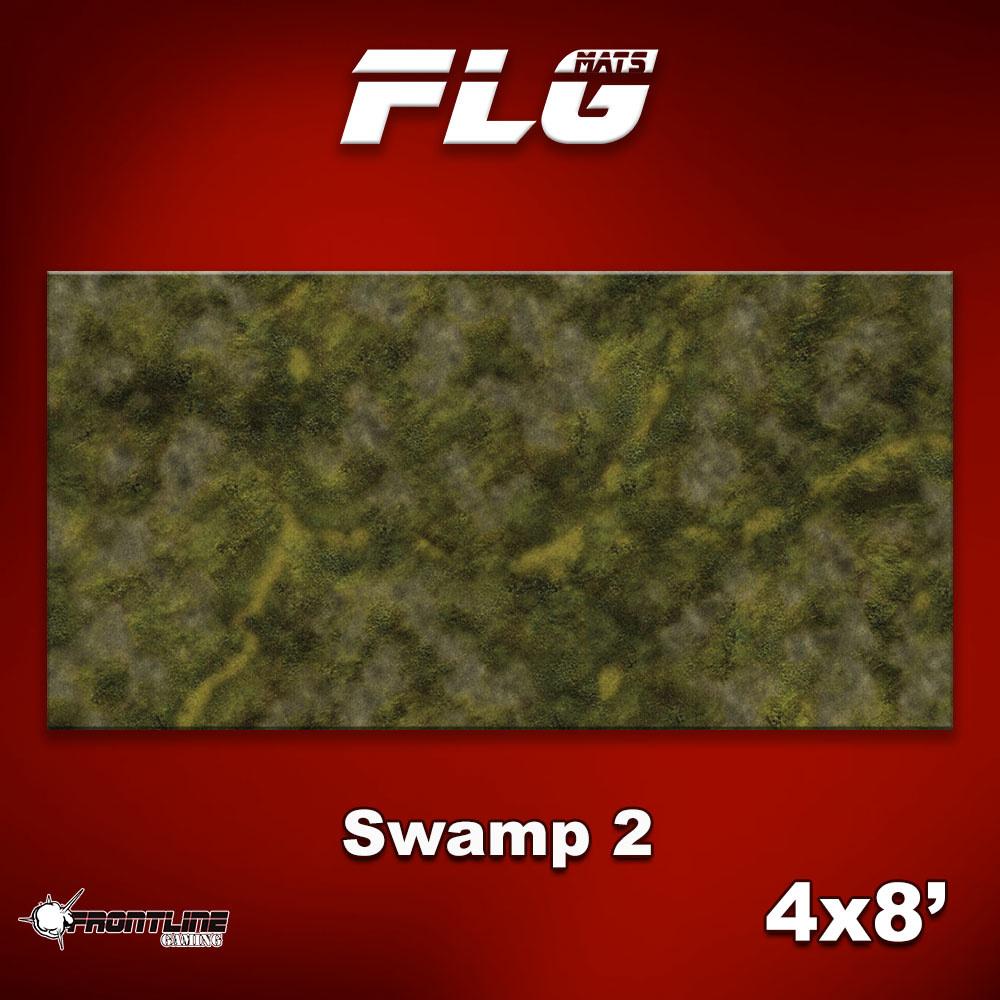 Frontline-Gaming FLG Mats: Swamp 2 4x8'