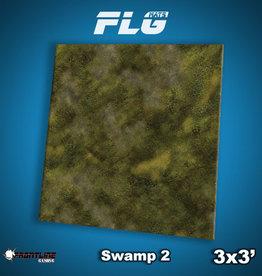 Frontline-Gaming FLG Mats: Swamp 2 3x3'