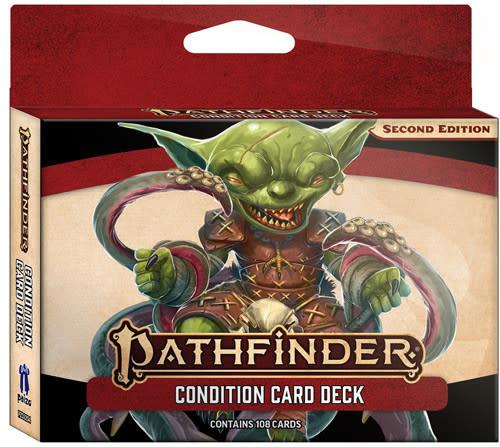 Pathfinder Pathfinder, Second Edition Condition Card Deck