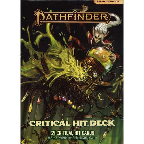 Pathfinder Pathfinder, Second Edition Critical Hit Deck