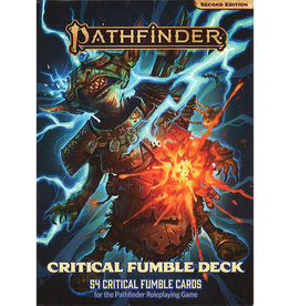 Pathfinder Pathfinder, Second Edition Critical Fumble Deck