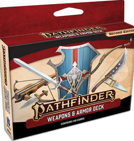 Pathfinder Pathfinder, Second Edition Weapons & Armor Deck