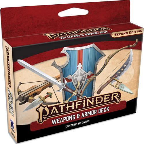 Pathfinder Pathfinder, Second Edition Weapons & Armor Deck