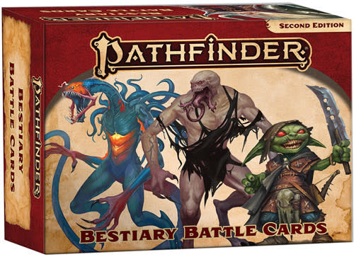 Pathfinder Pathfinder, Second Edition  Bestiary Battle Cards