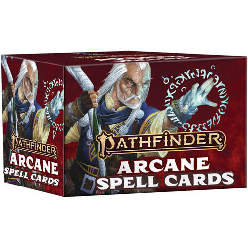 Pathfinder Pathfinder, Second Edition Spell Cards- Arcane
