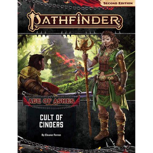 Pathfinder Pathfinder, Second Edition Adventure Path- Cult of Cinders (Age of Ashes 2 of 6)