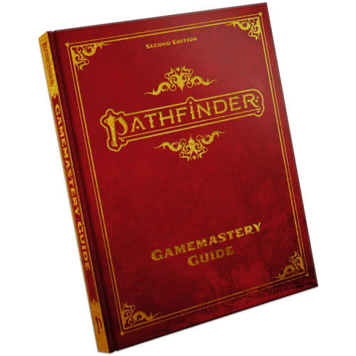 Pathfinder Pathfinder, Second Edition Gamemastery Guide, Special Edition
