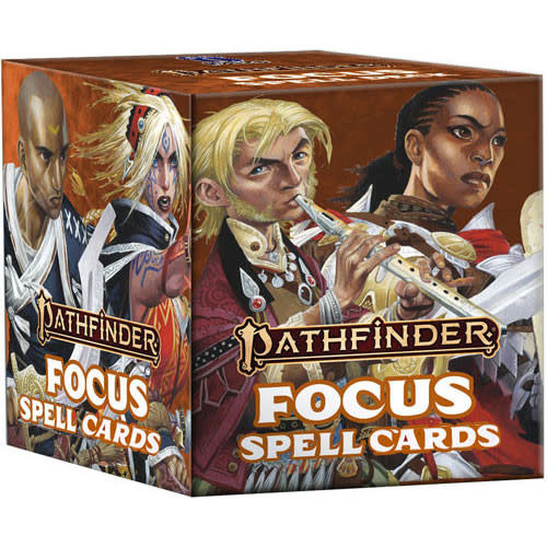 Pathfinder Pathfinder, Second Edition Spell Cards- Focus