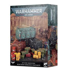 Games-Workshop Battlezone Manufactorum: Munitorum Armoured Containers