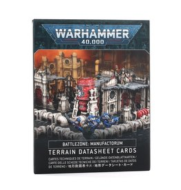 Games-Workshop Battlezone Manufactorum Datasheet Cards