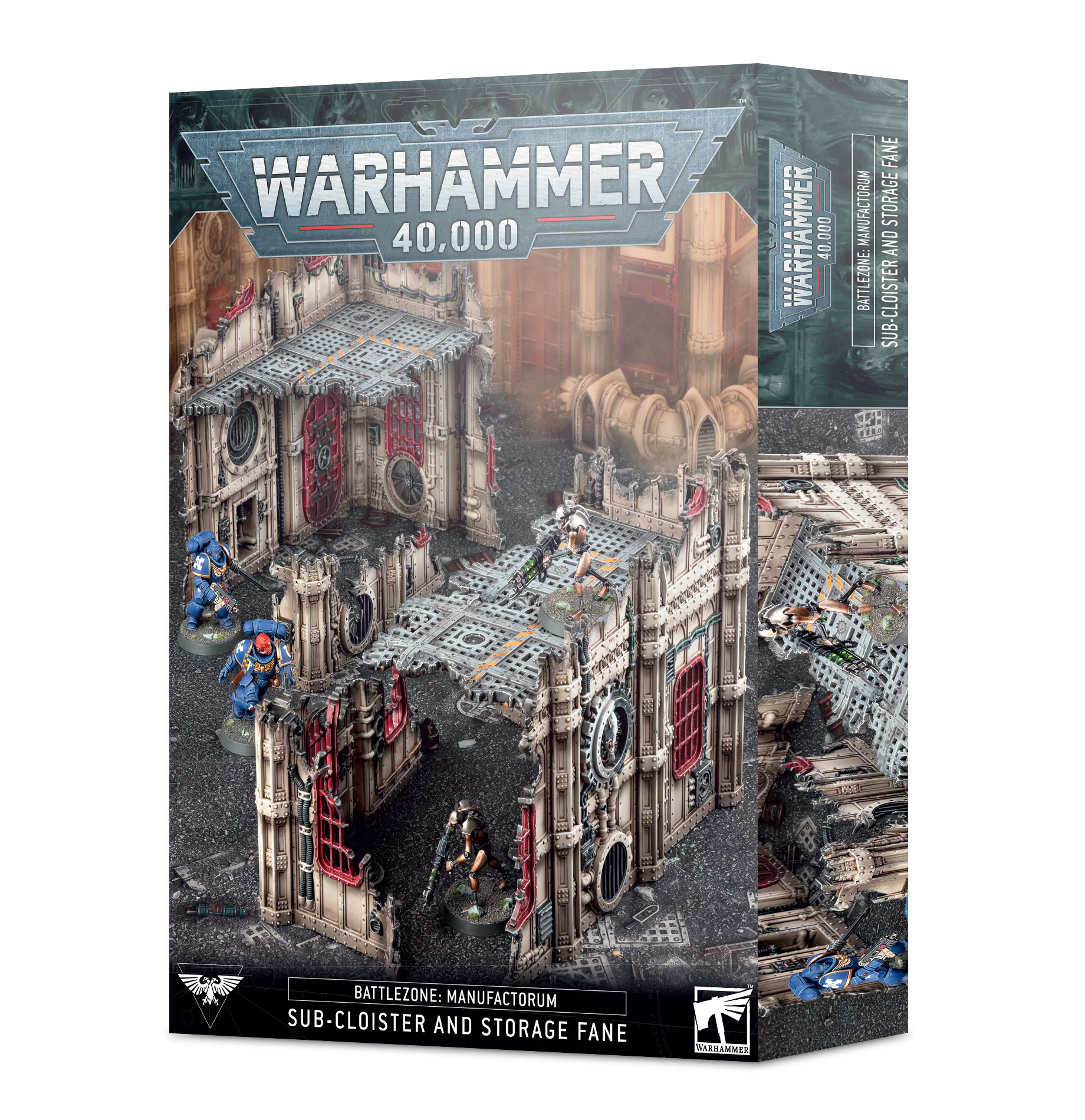Games-Workshop Sub-Cloister & Storage Fane