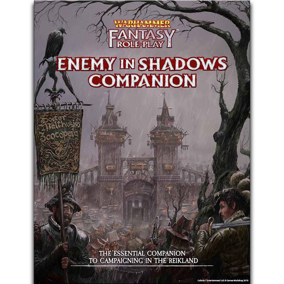 Cubicle 7 Warhammer Fantasy Roleplay, 4th Edition: Enemy in Shadows Companion