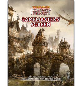 Cubicle 7 Warhammer Fantasy Roleplay, 4th Edition: Gamemaster's Screen