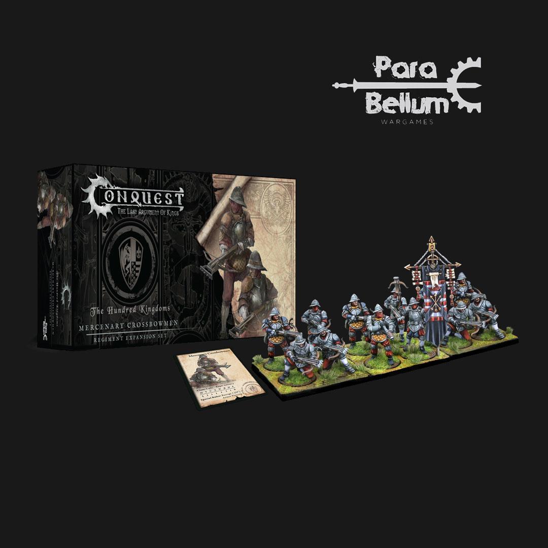Para Bellum Hundred Kingdoms: Mercenary Crossbowmen