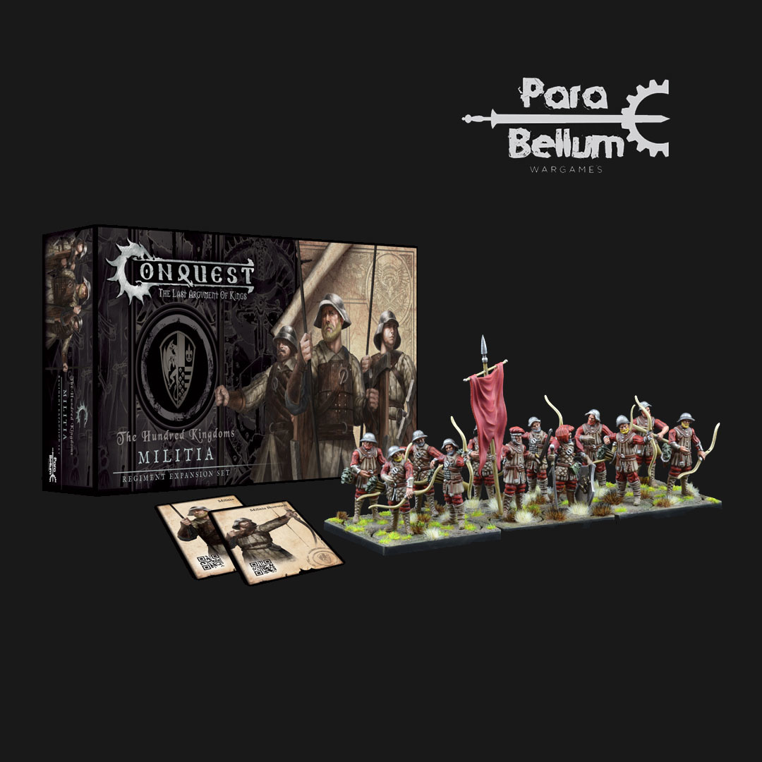 Para Bellum Hundred Kingdoms: Militia Bowmen