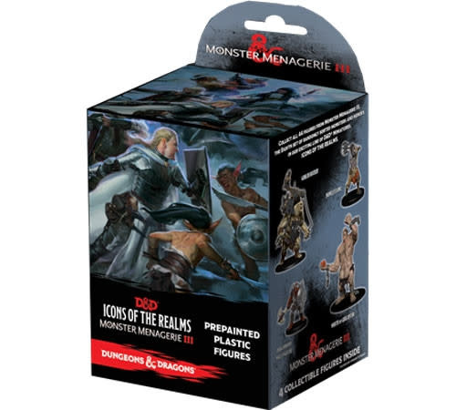 WizKids D&D Icons of the Realms: Set 8- Monster Menagerie III Booster Pack