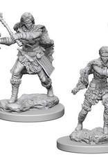 WizKids D&D Minis: Wave 1- Human Female Barbarian