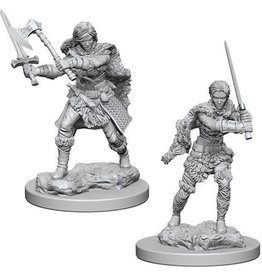 WizKids D&D Minis: Wave 1- Human Female Barbarian
