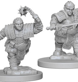 WizKids D&D Minis: Wave 2- Dwarf Female Fighter