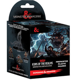 WizKids D&D Icons of the Realms: Set 4- Monster Menagerie 1 Booster Pack