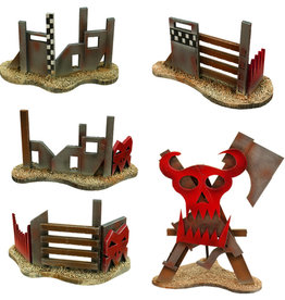 Frontline-Gaming ITC Terrain Series: Orc Barricades