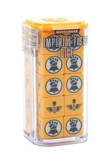 Games-Workshop Space Marines Imperial Fists Dice