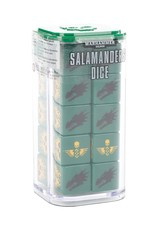 Games-Workshop Space Marines Salamanders Dice
