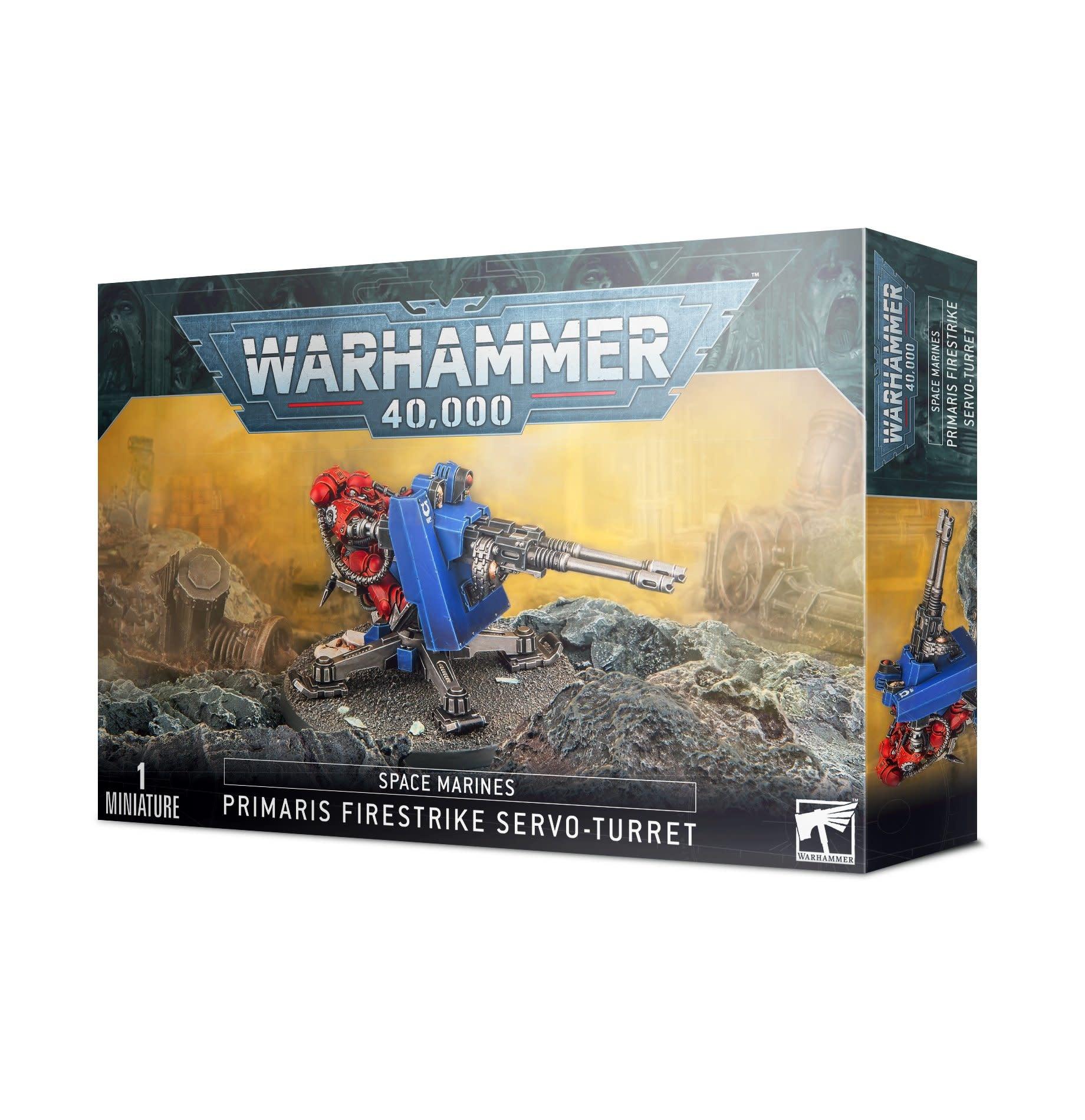 Games-Workshop Space Marines Firestrike Servo-Turret