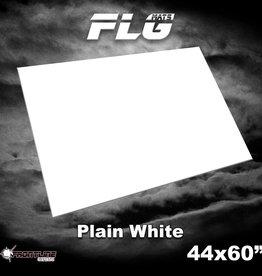 """Frontline-Gaming FLG Mats: Plain White 44"""" x 60"""""""