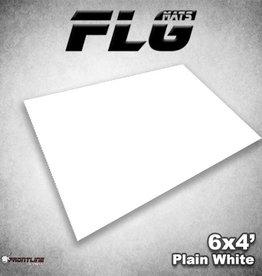 Frontline-Gaming FLG Mats: Plain White 6x4'