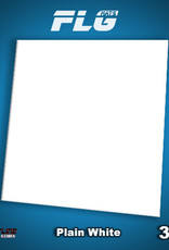 Frontline-Gaming FLG Mats: Plain White 3x3'