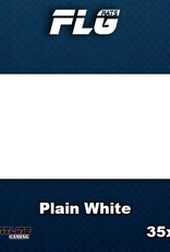 Frontline-Gaming FLG Mats: Plain White Desk Mat