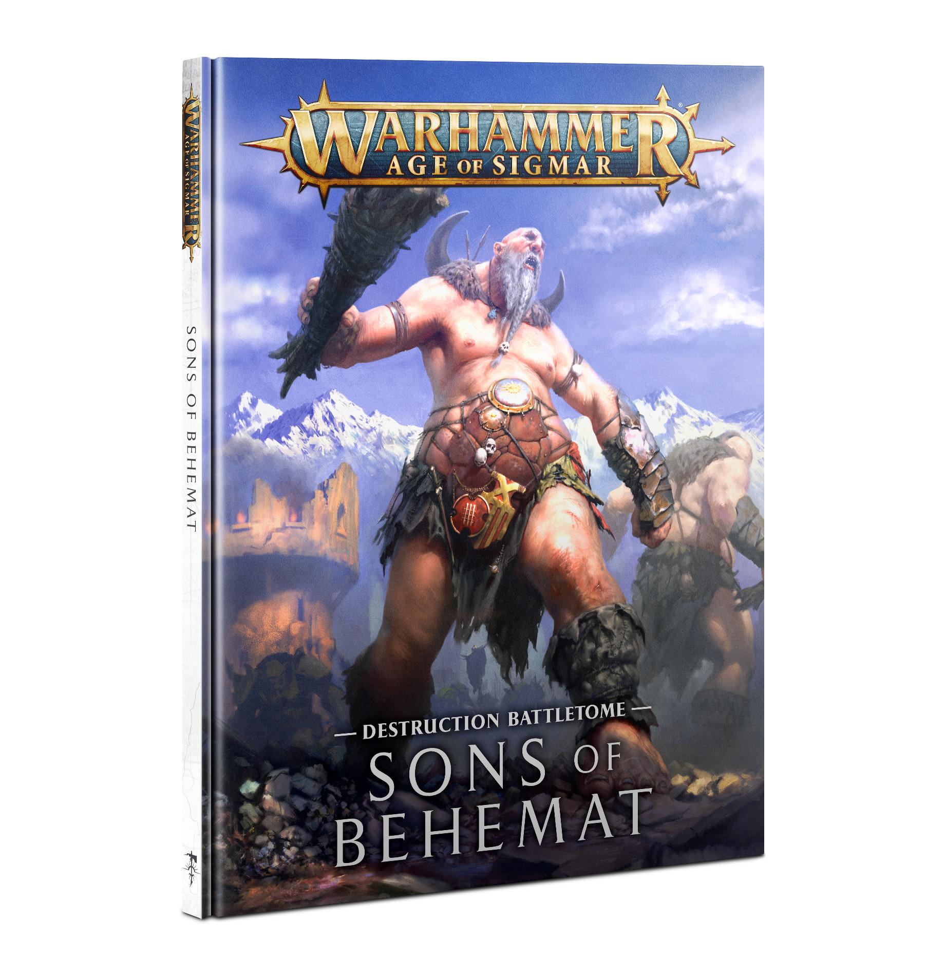 Games-Workshop Battletome: Sons of Behemat