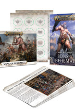 Games-Workshop Sons of Behemat Warscroll Cards