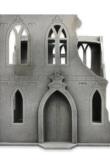 Frontline-Gaming ITC Terrain Series: ITC Standard Gothic Ruins Set With Mat