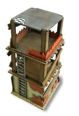 Frontline-Gaming ITC Terrain Series: Orc Snow Village Complete Set With Mat