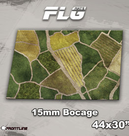 """Frontline-Gaming FLG Mats: 15mm Bocage 44"""" x 30"""""""