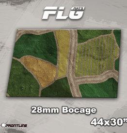 """Frontline-Gaming FLG Mats: 28mm Bocage 44"""" x 30"""""""