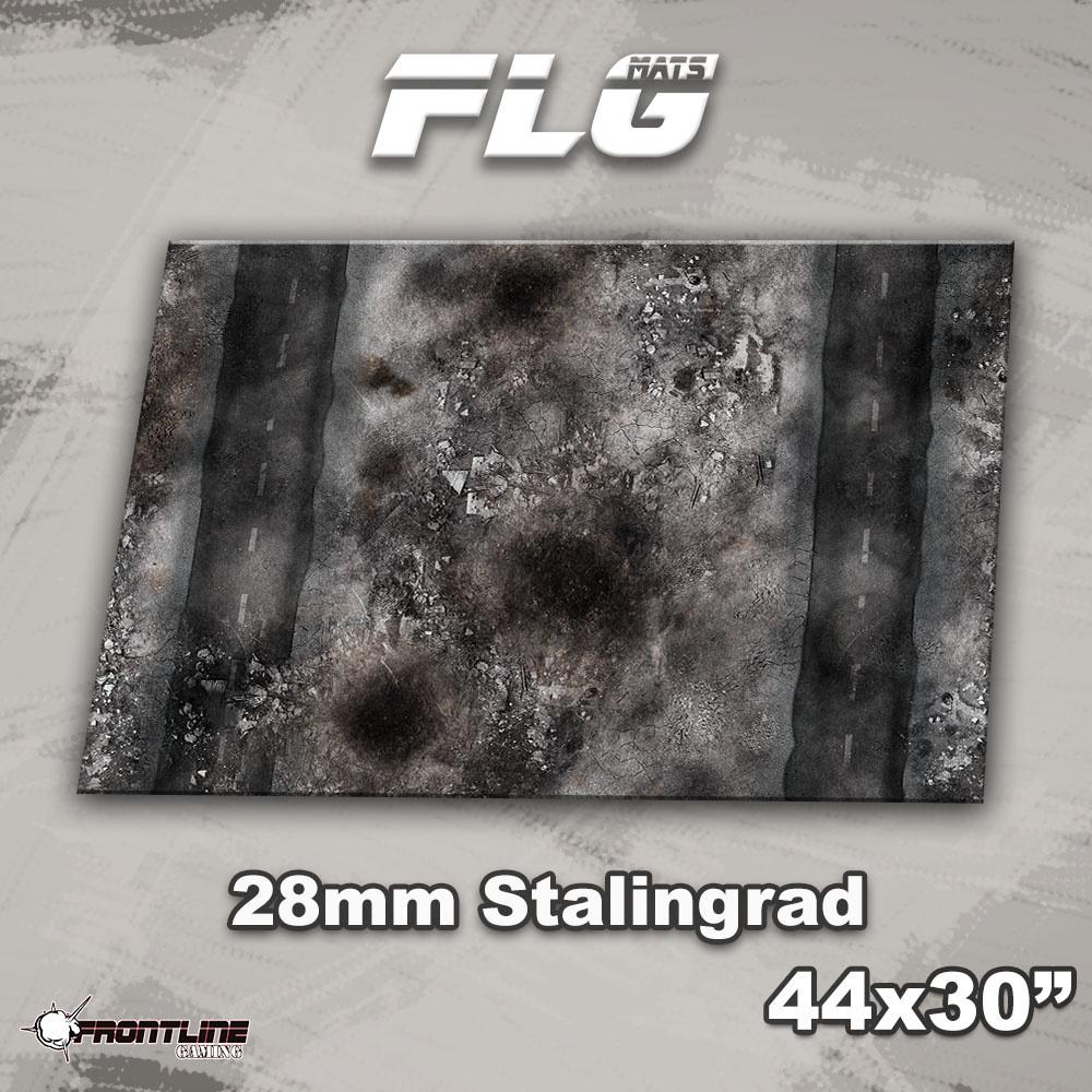 "Frontline-Gaming FLG Mats: 28mm Stalingrad 44"" x 30"""