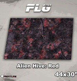 "Frontline-Gaming FLG Mats: Alien Hive 1: Red 44"" x 30"""