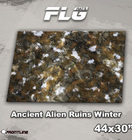 "Frontline-Gaming FLG Mats: Ancient Alien Ruins Winter 44"" x 30"""