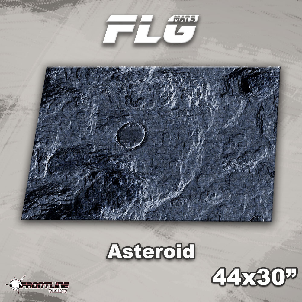 """Frontline-Gaming FLG Mats: Asteroid 44"""" x 30"""""""