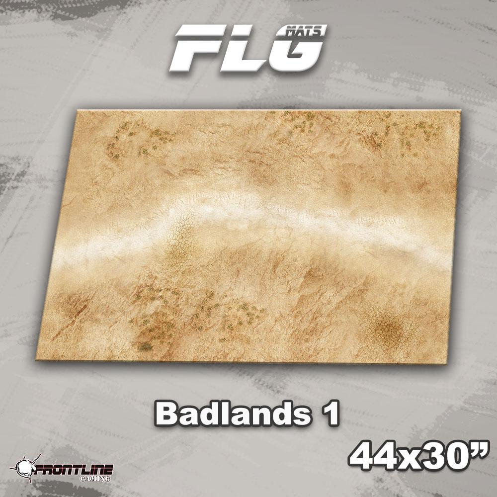 """Frontline-Gaming FLG Mats: Badlands 1 44"""" x 30"""""""